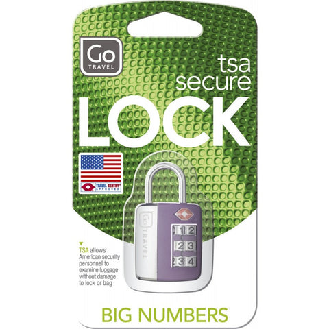 Go Travel Big Numbers TSA Combination Lock