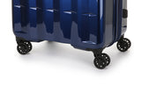Antler Global Large 79.5cm And Cabin/Carry On 56cm Navy Expandable Hardcase Set