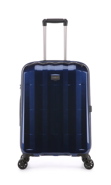 Antler Global Medium 67cm Navy Expandable Hard Suitcase