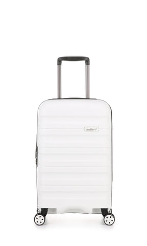 Antler Juno 2 Cabin/Carry On 55cm White Hardcase