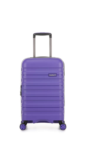 Antler Juno 2 Cabin/Carry On 55cm Purple Hardcase