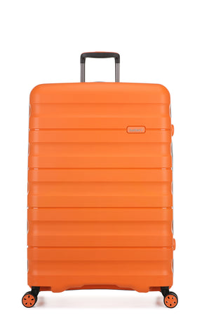 Antler Juno 2 Large 80cm Orange Expandable Hard Suitcase