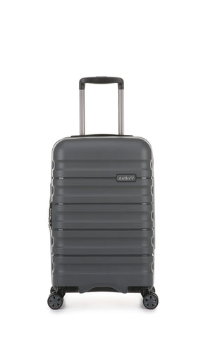 Antler Juno 2 Cabin/Carry On 55cm Charcoal Hardcase