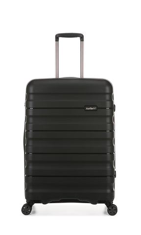 Antler Juno 2 Medium 68cm Black Expandable Hardcase