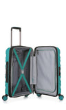 Antler Juno 2 Teal Expandable 3 Piece Hardcase Set with FREE GO Travel Scale