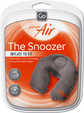 Go travel Inflatable Snoozer Dark Grey Pillow