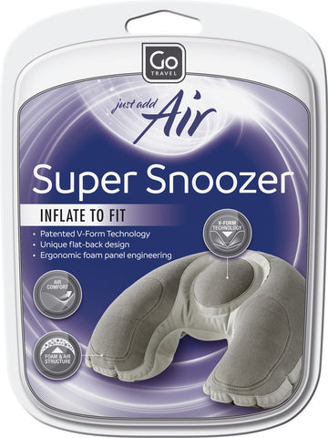 Go Travel Super Snoozer Inflatable Pillow