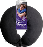 Go Travel Bean Black Neck Sleeper Pillow