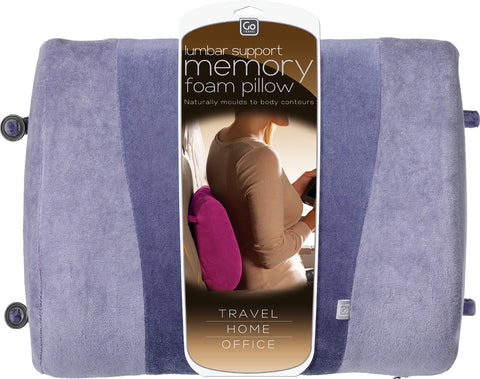 Go Travely Memory Foam Lumbar Support