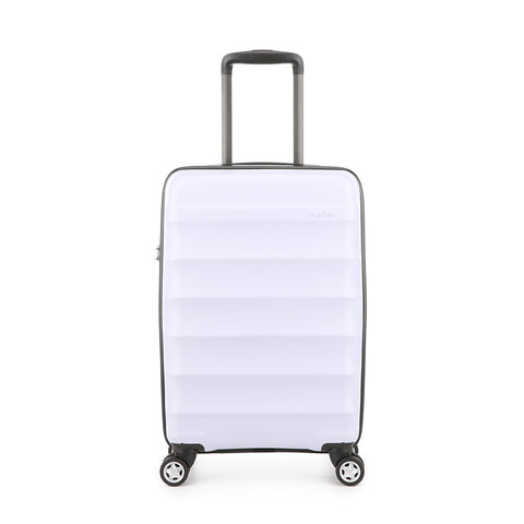 Antler Juno Camber Cabin/Carry On 56cm Lilac Expandable Hard Suitcase
