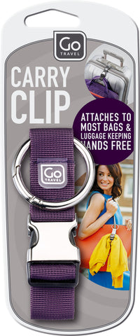 Go Travel Carry Clip Various Colours