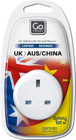 Go Travel UK to Australia/New Zealand Adaptor