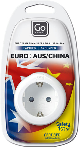 Go Travel Europe to Australia/New Zealand Adaptor
