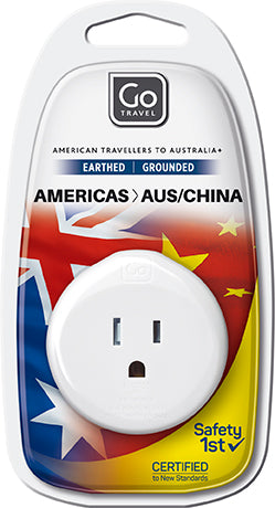 Go Travel Americas to Australia/New Zealand Adaptor