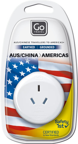 Go Travel Australia/New Zealand to Americas Adaptor