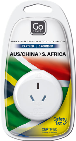 Go Travel Australia/New Zealand to South Africa Adaptor