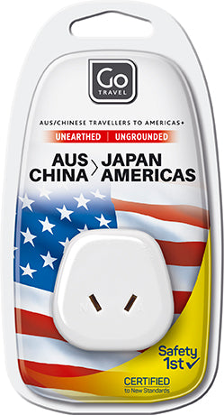 Go Travel Australia/New Zealand to Japan/USA Adaptor