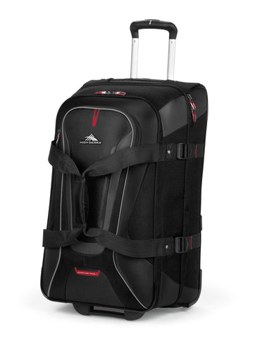 High Sierra AT7 Medium 66cm Wheeled Duffles Black