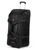 High Sierra AT7 Large 81cm Wheeled Duffles Black