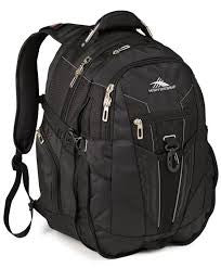 "High Sierra XBT 17"" Laptop Backpack Black"