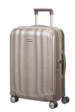 Samsonite Lite Cube Cabin/Carry On 55cm Ivory Gold Hard Suitcase