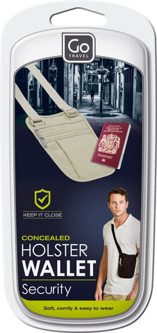 Go Travel Body Shoulder Wallet Various Colours