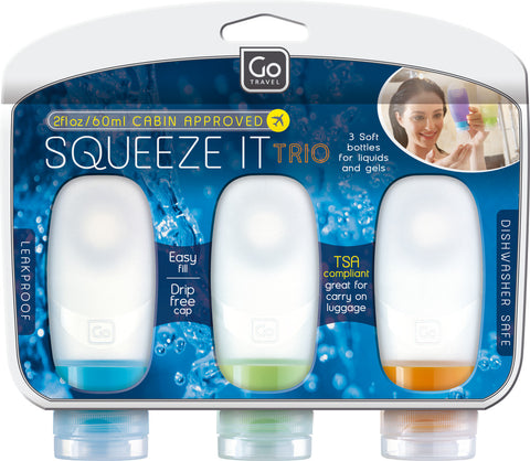 Go Travel Squeeze It Trio Bottle Set