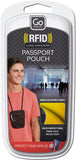 Go Travel RFID Passport Pouch Various Colours