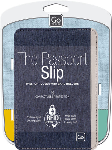 Go Travel The Passport Slip (RFID) Assorted Colours