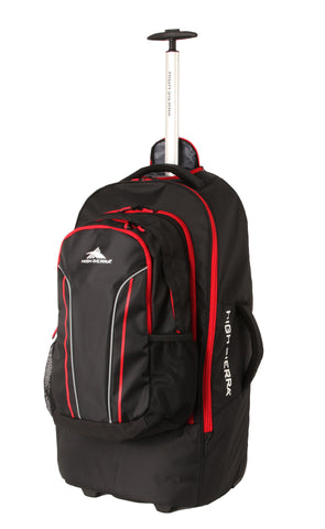 High Sierra Composite Large 76cm Wheeled Duffle Detachable