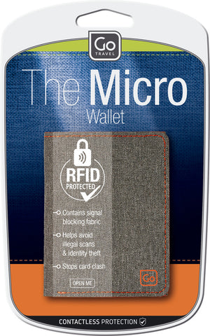 Go Travel The Micro Wallet RFID