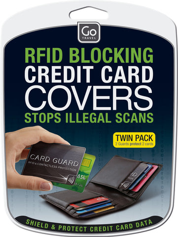 Go Travel RFID-Blocking Card Gaurds