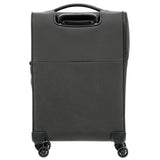 Samsonite 72 Hours Dlx Large 78cm And Cabin/Carry On 55cm Platinum Grey Softcase Set