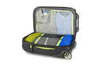 High Sierra AT8 Cabin/Carry On 54cm Wheeled Duffles Black/Green