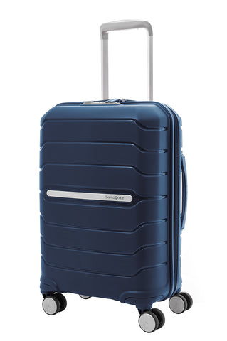 Samsonite Octolite Cabin/Carry On 55cm Blue Hard Suitcase
