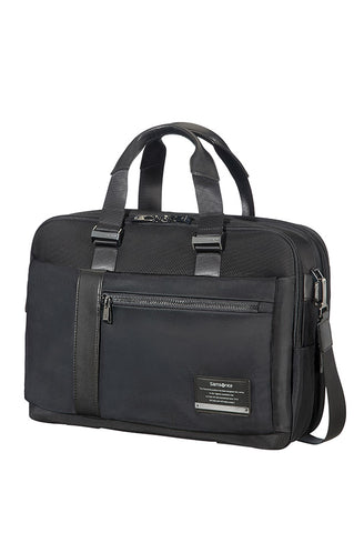 "Samsonite Openroad Bailhandle EXP 15.6"" Laptop Bag Jet Black"
