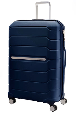Samsonite Octolite Extra Large 81cm Blue Hard Suitcase