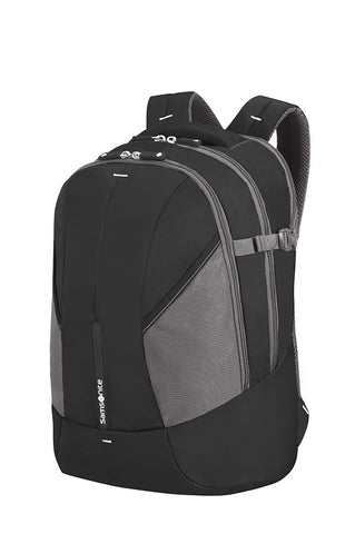 "Samsonite 4Mation 15.4"" Laptop Backpack Large EXP Black/Silver"