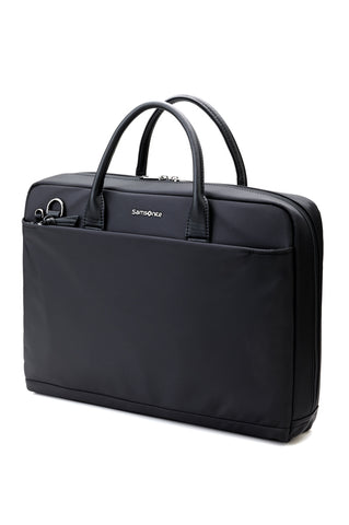 "Samsonite Boulevard Slim 14"" Laptop Briefcase Black"