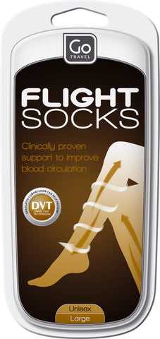 Go Travel Large Flight Support Socks