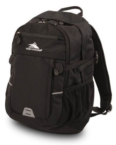 "High Sierra Shield 15"" Laptop Black Backpack"