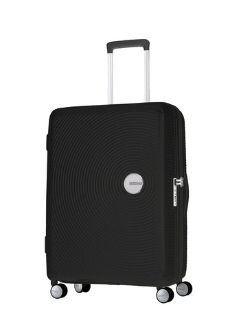 American Tourister Curio Medium 69cm Black Hardcase