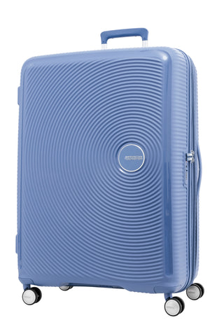 American Tourister Curio Large 80cm Denim Blue Hard Suitcase