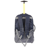High Sierra Composite V3 Navy/Yellow Cabin/Carry On 56cm Wheeled Duffle