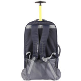 High Sierra Composite V3 Navy/Yellow Medium 76cm Wheeled Duffle
