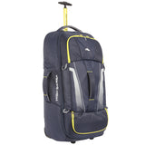 High Sierra Composite V3 Navy/Yellow Large 84cm Wheeled Duffle