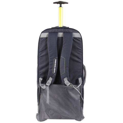 High Sierra Composite V3 Navy Yellow Large 84cm Wheeled Duffle a0054cd8a0814
