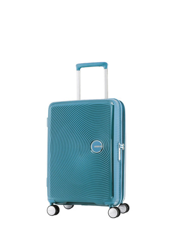 American Tourister Curio Cabin/Carry On 55cm Turquoise Hardcase