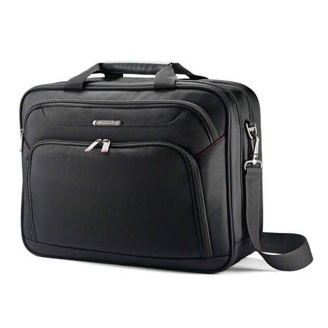 Samsonite Xenon 3.0 Two Gusset Briefcase Black