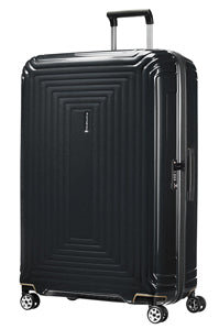 Samsonite Aspero 75cm Large Hard Suitcase Metallic Black